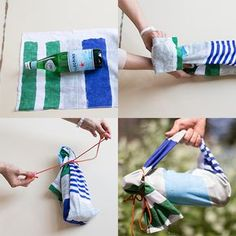 The Furoshiki cloth – the art of zero-waste gift packaging the Japanese way Japanese Bag, Japanese Fabric, Japanese Style, Furoshiki Wrapping, Gift Wrapping, Wrapping Ideas, Pretty Packaging, Gift Packaging, Japanese Wrapping