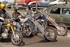 cambridge, mass 1973 motorcycles - photo by Nick DeWolf