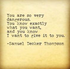 Temptation #samueldeckerthompson @ADudeWritingPoetry