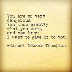 Temptation #samueldeckerthompson @ADudeWritingPoetry