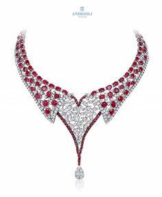 Very merry! Brilliant diamonds and Burmese rubies. Happy holidays!