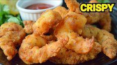 Crispy Fried Prawns Recipe, Fried Shrimp, Maggi Recipes, Prawns Fry, Prawn Recipes, Red Chili, Tempura, Restaurant Recipes, Fritters