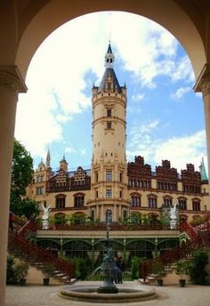 The Orangery at Schwerin Palace, Germany by Eva0707