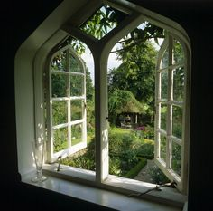 Gothic shaped window