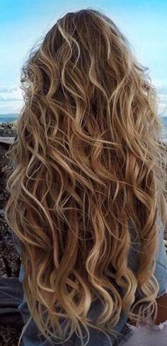 ⚡⚡ashley ann - New Site Brown Blonde Hair, Wavy Hair, Her Hair, Hair Blog, Aesthetic Hair, Beach Hair, Hair Highlights, Hair Day, Balayage Hair