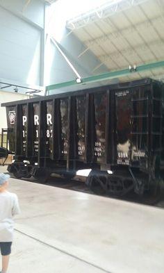 PRR Ore Car Strasburg Railroad, Railroad Photography, Pennsylvania Railroad, Rolling Stock, Trains, Cars, Vehicles, Autos, Automobile