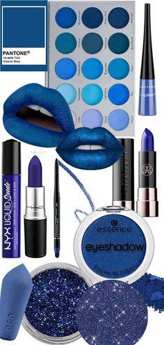 Suéter Azul: Cor do ano 2020 - Pantone Classic Blue pantone 2020 classic blue makeup Blue Colour Palette, Blue Color Schemes, Dark Blue Color, Color Palettes, Azul Pantone, Pantone 2020, Pantone Color, Eyeshadow Palette Uk, Eyeshadow Makeup