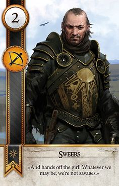 Sweers (Gwent Card) - The Witcher 3: Wild Hunt