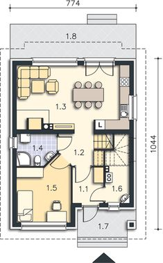 Modern House Floor Plans, House Design, Flooring, How To Plan, Wood Flooring, Architecture Design, House Plans, Home Design, Floor