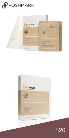 Karuna Face Mask Set 4 individually wrapped hydrating face masks Retails $28 Karuna Other