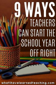 9 Ways to Start the Year off Right is part of Back to school teacher - It's backtoschool time Are you ready for it Here are nine tips for your first couple days of school that will help start the year with success Back To School Teacher, 1st Day Of School, Beginning Of The School Year, Elementary Teacher, School Classroom, Classroom Rules, Future Classroom, Middle School, Snoopy Classroom