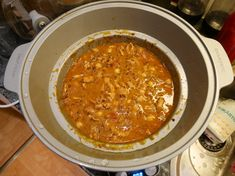 Kyckling och linsgryta i Crock Pot