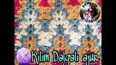 Crochet Square Blanket, Crochet Blanket Patterns, Crochet Needles, Crochet Stitches, Crochet Baby, Knit Crochet, Stitch 2, Crochet Videos, Knitted Blankets