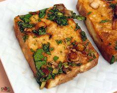 Tofu au gingembre au four - SOSCuisine