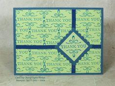 Splitcoaststampers FOOGallery - LSC209  Elegant Thank You Stamp-a-ma-jig Card