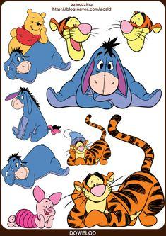 ★포토샵 스티커,디즈니 스티커 모음 62장! 미키마우스와 공주들 그리고 푸우 등등! 포토샵 디즈니 스티커 ... Pooh Bear, Tigger, Cartoon Drawings, My Drawings, Disney Nails, Disney Wallpaper, Kids Furniture, Painted Rocks, Art For Kids