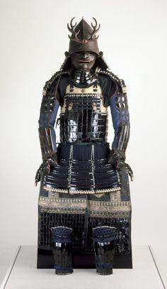 Samurai armor of the Gusoku type, 18th century