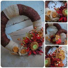 Marigold Road | Mindy Harris: Handmade Fall Wreaths