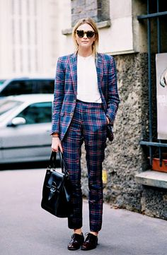 Mad about this plaid workwear.