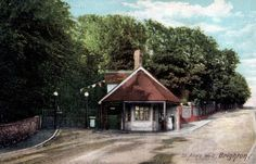 The 1905 postcard St Ann's Well Garden's 'Swiss Cottage' in Hove