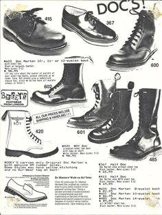 "madi 𖤐 on Twitter: ""80s footwear ads… "" Vintage Goth, Mode Vintage, 80s Punk Fashion, Gothic Fashion, Vintage Fashion, 80s Goth, Punk Goth, New Wave, Gothic Musik"