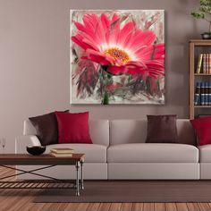 Ready2HangArt 'Painted Petals XLIII' Canvas Wall Art