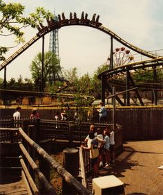 King Cobra 1987 Coney Island Amusement Park, Amusement Parks, Kings Island Cincinnati, Summer Memories, Childhood Memories, Fair Rides, Riders On The Storm, Cedar Point, Local Attractions