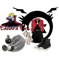 Edward Elric Casual Cosplay FMA. probably the cutest Ed casual cosplay yet! LOVE the shoes!!