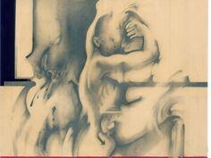 Alessandro De Michele_Director's cut, 2016_Pencil drawing on paper, 85 x 65 cm.