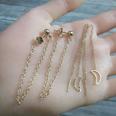 """Citizen Republk  Jewelry - """"I'm Chained"""" earring bundle"""