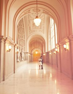 i'd love a big wedding but i'm not opposed to a fabulous city hall wedding like this one!