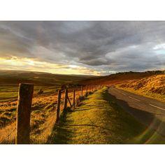 Take a drive through the Peak District, Autumn colours.