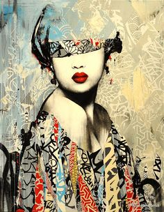 Artist:Hush ..Photo Pano Ramix #streetart jd