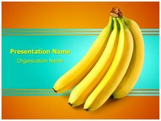 Bananas Fruit PowerPoint Presentation Template is one of the best Medical…