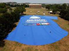 How cool is this? #worldslargest #tshirt