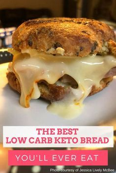 If you are like me and miss eating bread when on a low carb keto diet, you will definitely want to try this incredible & easy recipe.