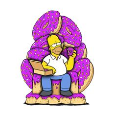 Donut of Thrones, The Simpsons