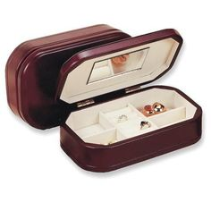 Just in... Cherry Finish Jewelry Box! Be sure to check it out!