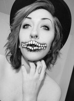 Tumblr Scene Style, My Style, Gothic Looks, Gothic Fashion, Darkness, Halloween Face Makeup, Alternative, Cosplay, Dark
