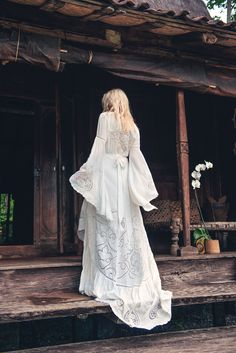 Spell & the Gypsy Collective Gwendolyn Wrap Bridal Gown