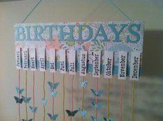 Die 19 Besten Bilder Von Geburtstagskalender