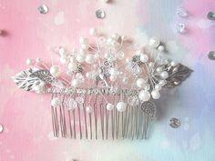 Mary | Bridal hair comb wedding hair jewelry bridal hair accessory wedding hair comb bridal headpiece wedding hair jewelry