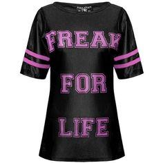 Freak Womens Football Top [B] | KILLSTAR
