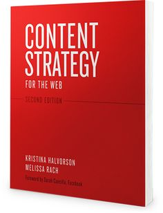 Content Strategy for the web book