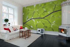 Hey,+look+at+this+wallpaper+from+Rebel+Walls,+Leaves!+#rebelwalls+#wallpaper+#wallmurals