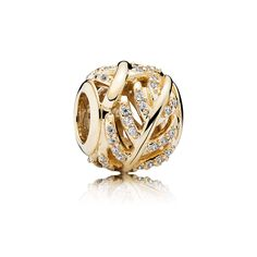 3499 Gold Shimmering Feather Charm - PANDORA Hong Kong eSTORE | pandora.estore