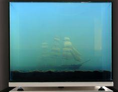 Mixed Media Aquarium Sculptures by Mariele Neudecker Mimic Paintings and Photographs  sculpture installation aquariums