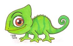 Little Pascal by on DeviantArt Day Little Pascal Day 5 of So far so good! Today I had the urge to draw Pascal from Tangled and here's the product of it! I think Pascal is sooo cute and I hope this lives up to him! L… Little Pascal by … Cute Cartoon Drawings, Cute Disney Drawings, Easy Drawings, Rapunzel Cartoon, Rapunzel Drawing, Disney Kunst, Disney Art, Tangled Painting, Pascal Tangled
