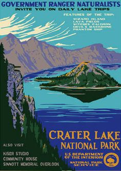 """The first Americans to visit Crater Lake National Park in Oregon were gold prospectors, in June 1853. They named this lake """"Deep Blue Lake,"""" but the local Oregonians said """"Nah"""" and renamed it """"Crater Lake"""". You go, Oregonians! #travel #oregon"""