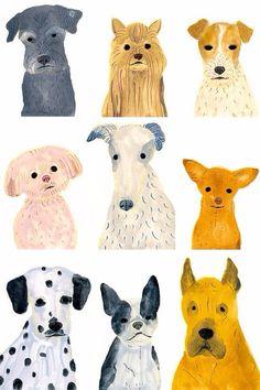 Dogs by Itsuko Suzuki